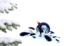 Αποτυχημένα Χριστούγεννα Στοκ φωτογραφία με δικαίωμα ελεύθερης χρήσης