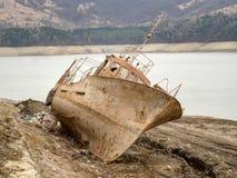 Αποτυχημένο σκάφος Στοκ φωτογραφία με δικαίωμα ελεύθερης χρήσης