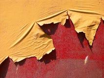 αποφλοίωση χρωμάτων Στοκ εικόνα με δικαίωμα ελεύθερης χρήσης