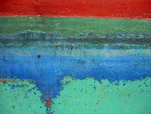 αποφλοίωση χρωμάτων Στοκ Φωτογραφίες