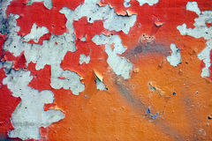 αποφλοίωση 2 χρωμάτων Στοκ φωτογραφίες με δικαίωμα ελεύθερης χρήσης