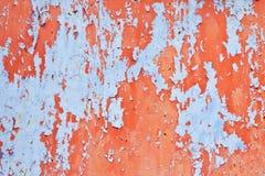Αποφλοίωση χρωμάτων αποφλοίωσης επιφάνειας μακριά Στοκ φωτογραφία με δικαίωμα ελεύθερης χρήσης