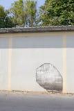 Αποφλοίωση χρωμάτων από τον τοίχο Στοκ φωτογραφίες με δικαίωμα ελεύθερης χρήσης