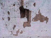 Αποφλοίωση χρωμάτων από τον τοίχο Στοκ Εικόνες