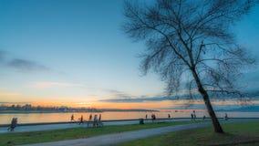 Απολαύστε το χειμερινό ηλιοβασίλεμα στοκ φωτογραφίες με δικαίωμα ελεύθερης χρήσης