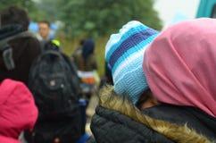 Αποδημητικός ύπνος μωρών Στοκ φωτογραφίες με δικαίωμα ελεύθερης χρήσης