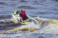 Αποδόσεις, Watercraft, Tyumen Στοκ Φωτογραφία