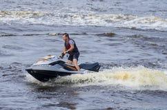Αποδόσεις, Watercraft, Tyumen Στοκ φωτογραφία με δικαίωμα ελεύθερης χρήσης