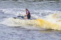 Αποδόσεις, Watercraft, Tyumen Στοκ Εικόνες