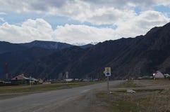 Απρίλιος σε Altai  Στοκ Φωτογραφίες