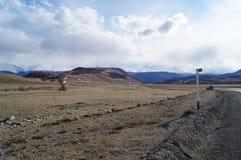 Απρίλιος σε Altai  Στοκ εικόνες με δικαίωμα ελεύθερης χρήσης