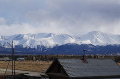 Απρίλιος σε Altai  Στοκ φωτογραφίες με δικαίωμα ελεύθερης χρήσης
