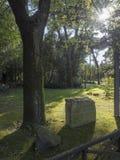 21 Απριλίου 2018 μέσω Appia, ο τρόπος Appian από Porta Appia, Στοκ Εικόνες