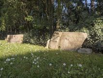 21 Απριλίου 2018 μέσω Appia, ο τρόπος Appian από Porta Appia, Στοκ Φωτογραφίες