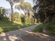 21 Απριλίου 2018 μέσω Appia, ο τρόπος Appian από Porta Appia, Στοκ εικόνα με δικαίωμα ελεύθερης χρήσης