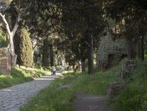 21 Απριλίου 2018 μέσω Appia, ο τρόπος Appian από Porta Appia, Στοκ Εικόνα