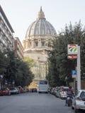 19 Απριλίου 2018, Ρώμη, μέσω του alla Stazione, ST, θόλος peters Vatic Στοκ εικόνες με δικαίωμα ελεύθερης χρήσης