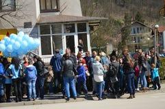 2 Απριλίου αυτισμός ημερών Στοκ Εικόνες
