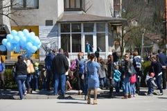 2 Απριλίου αυτισμός ημερών Στοκ φωτογραφία με δικαίωμα ελεύθερης χρήσης