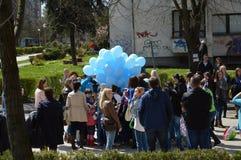 2 Απριλίου αυτισμός ημερών Στοκ εικόνες με δικαίωμα ελεύθερης χρήσης