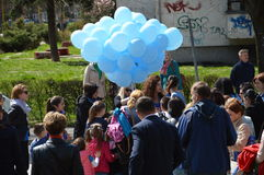 2 Απριλίου αυτισμός ημερών Στοκ Φωτογραφία