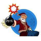 Απροσδόκητη έκπληξη για τα Χριστούγεννα Στοκ Εικόνες