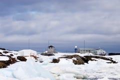 απρόσιτος σταθμός επιστήμ& Στοκ Φωτογραφία