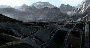 απόβλητα εδάφους Στοκ Εικόνες