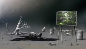 απόβλητα εδάφους Στοκ φωτογραφίες με δικαίωμα ελεύθερης χρήσης