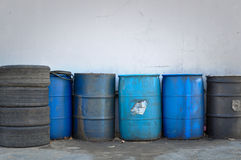 απόβλητα κινδύνου Στοκ εικόνα με δικαίωμα ελεύθερης χρήσης