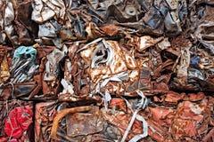Απόβλητα παλιοσίδερου Στοκ Φωτογραφία