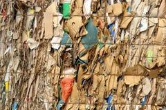 απόβλητα συμπιεσμένου ε&ga Στοκ Φωτογραφίες