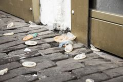 απόβλητα τι Στοκ φωτογραφία με δικαίωμα ελεύθερης χρήσης