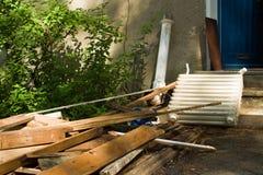 απόβλητα contruction Στοκ φωτογραφία με δικαίωμα ελεύθερης χρήσης