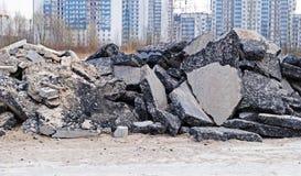 Απόβλητα κατασκευής Στοκ φωτογραφία με δικαίωμα ελεύθερης χρήσης