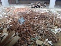 Απόβλητα κατασκευής Στοκ Εικόνες