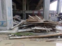 Απόβλητα κατασκευής Στοκ Φωτογραφίες