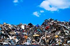 Απόβλητα μετάλλων Στοκ Φωτογραφία
