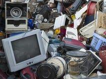 Απόβλητα, παλαιά απόρριψη τεχνολογίας Στοκ Φωτογραφία