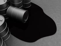 Απόβλητα πετρελαίου Στοκ φωτογραφίες με δικαίωμα ελεύθερης χρήσης