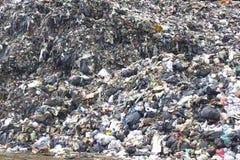 Απόβλητα σε μια απόρριψη Στοκ φωτογραφία με δικαίωμα ελεύθερης χρήσης