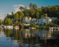 Απόγευμα από τη λίμνη Στοκ εικόνα με δικαίωμα ελεύθερης χρήσης