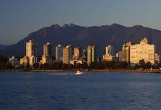 απόγευμα Καναδάς Βανκού&beta Στοκ Φωτογραφίες