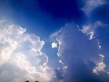 Απόγευμα ουρανού Στοκ φωτογραφίες με δικαίωμα ελεύθερης χρήσης
