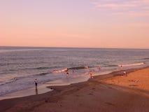 Απόγευμα στην επικεφαλής παραλία Nag ` s, βόρεια Καρολίνα Στοκ εικόνες με δικαίωμα ελεύθερης χρήσης