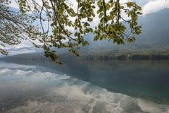 Απόγευμα φθινοπώρου στη λίμνη Bohinj, Σλοβενία στοκ φωτογραφία με δικαίωμα ελεύθερης χρήσης