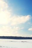 Απόγευμα Andscape Στοκ φωτογραφία με δικαίωμα ελεύθερης χρήσης