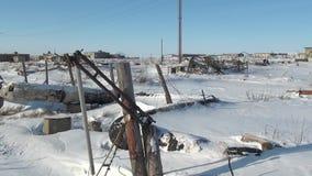 Απόγνωση ανθρακωρυχεία στα εγκαταλειμμένα εγκαταλειμμένα πόλεων φιλμ μικρού μήκους