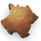 απόδοση χαρτών της Γαλλία&sig απεικόνιση αποθεμάτων