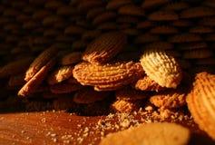 Απόθεμα των μπισκότων Στοκ φωτογραφία με δικαίωμα ελεύθερης χρήσης